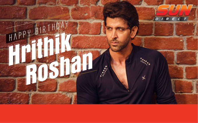 Wishing the Handsome and multi-talented heartthrob Hrithik Roshan a very Happy Birthday! :)