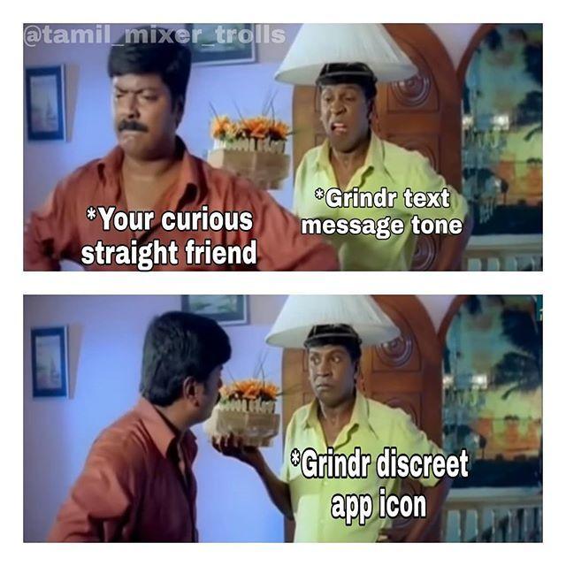Curious straight friend