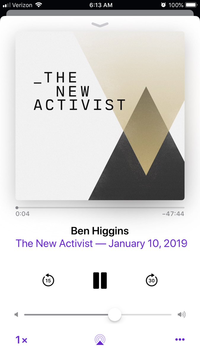 When @benhiggi hangs with @EdwardorEddie on a podcast, 🙋🏼♀️first in line!!! Thank you both for all you do! #thenewactivist https://t.co/7zMAGUKJOw