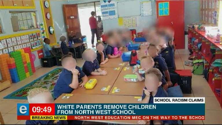[BREAKING NEWS] White parents remove children from North West school. #eNCANow #eNCAOnline Courtesy #DStv403