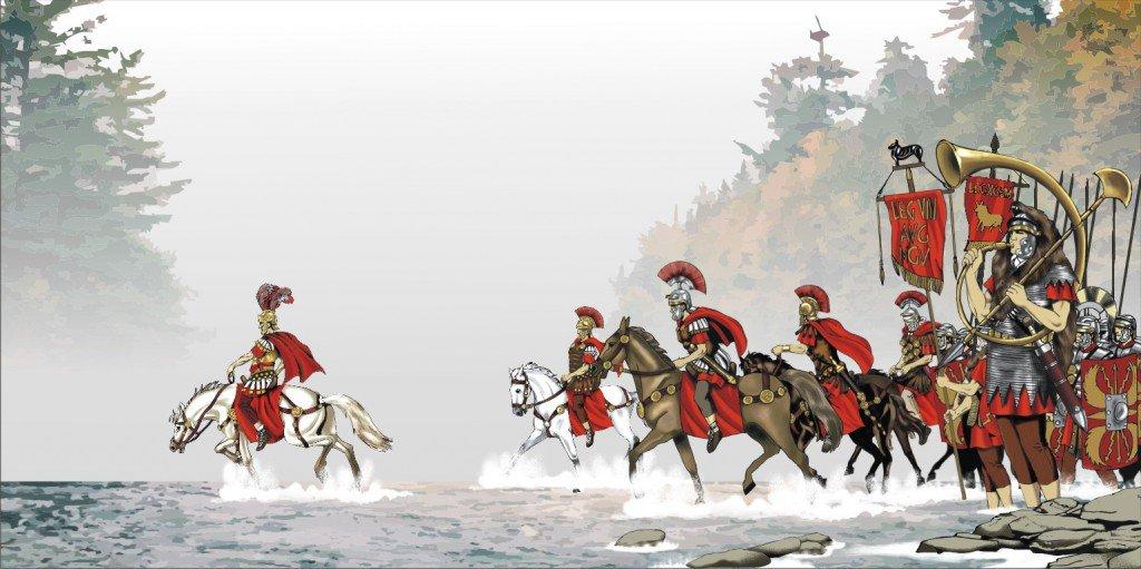 """Hoje no Mundo Militar na Twitterze: """"Neste dia em 49 a.C. Júlio ..."""