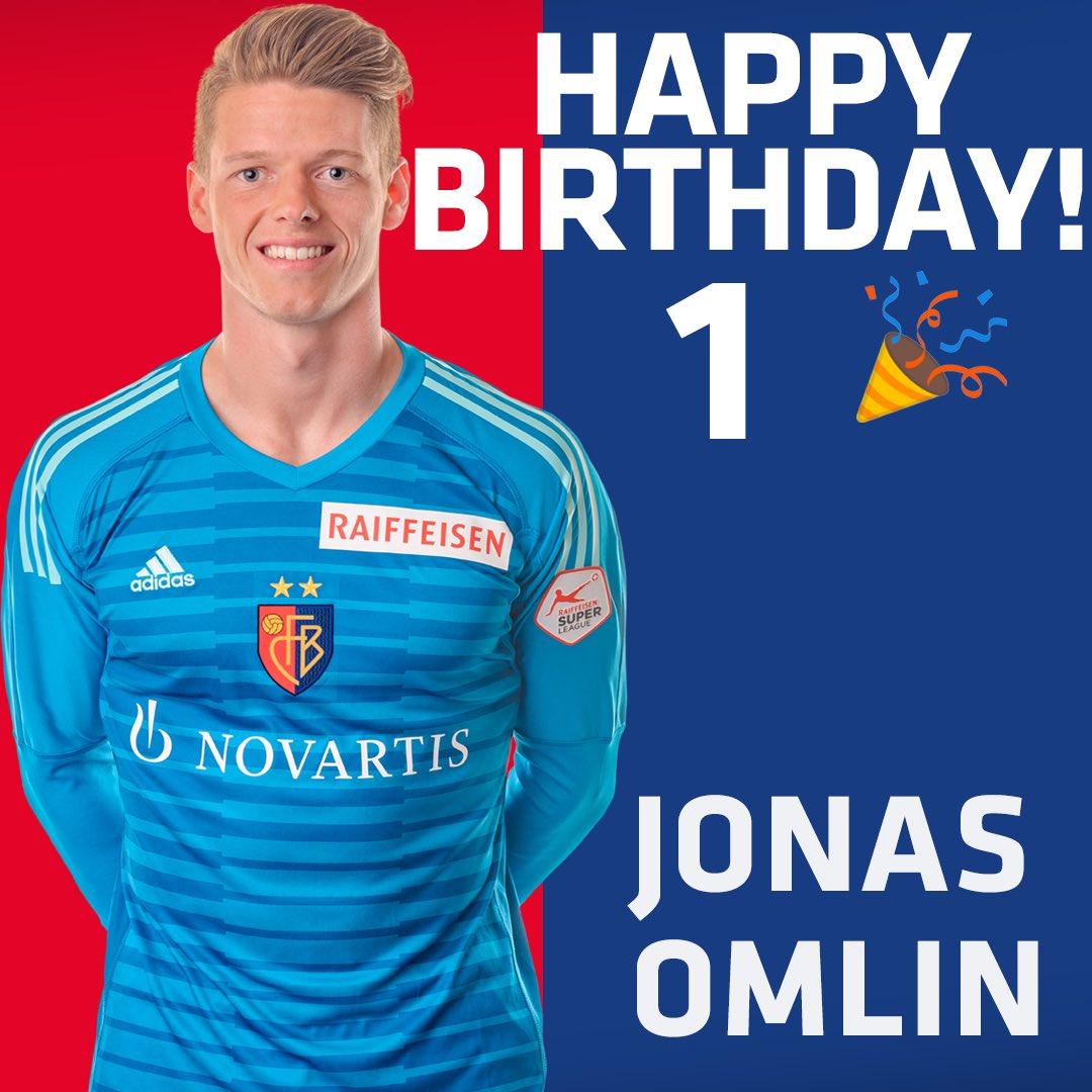 1ddb09032 Happy Birthday Jonas Omlin 🎂 Unsere Nummer 1️⃣ wird heute 2️⃣5️⃣ Jahre  alt!
