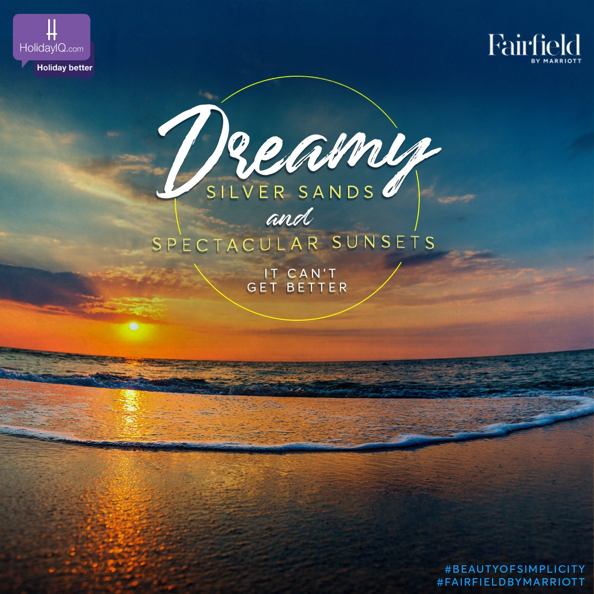 Unwind on silver sands and soak up some sun at the Silver Sands Beach, Anjuna, Goa. Watch this space to know more. #BeautyOfSimplicity #FairfieldByMarriott #holidayiq #holidayiqcommunity  @fairfieldanjuna https://t.co/H2RA876IdT