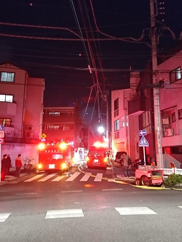 画像,西片で火事ですって(;´д`)東大農学部近く。 https://t.co/Y3vWytf2r6。