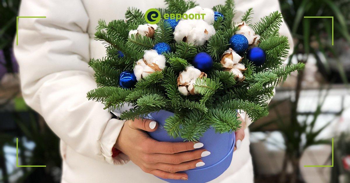 На цветочных островках в гипермаркетах «Евроопт» вы найдете большой выбор красивых букетов, не только посвященных зимней тематике, но и подходящих для любого случая. Кстати, сами флористы по вашей просьбе соберут любую композицию из цветов, которые выберете вы.   #евроопт #цветы https://t.co/BzmDwzpcz7