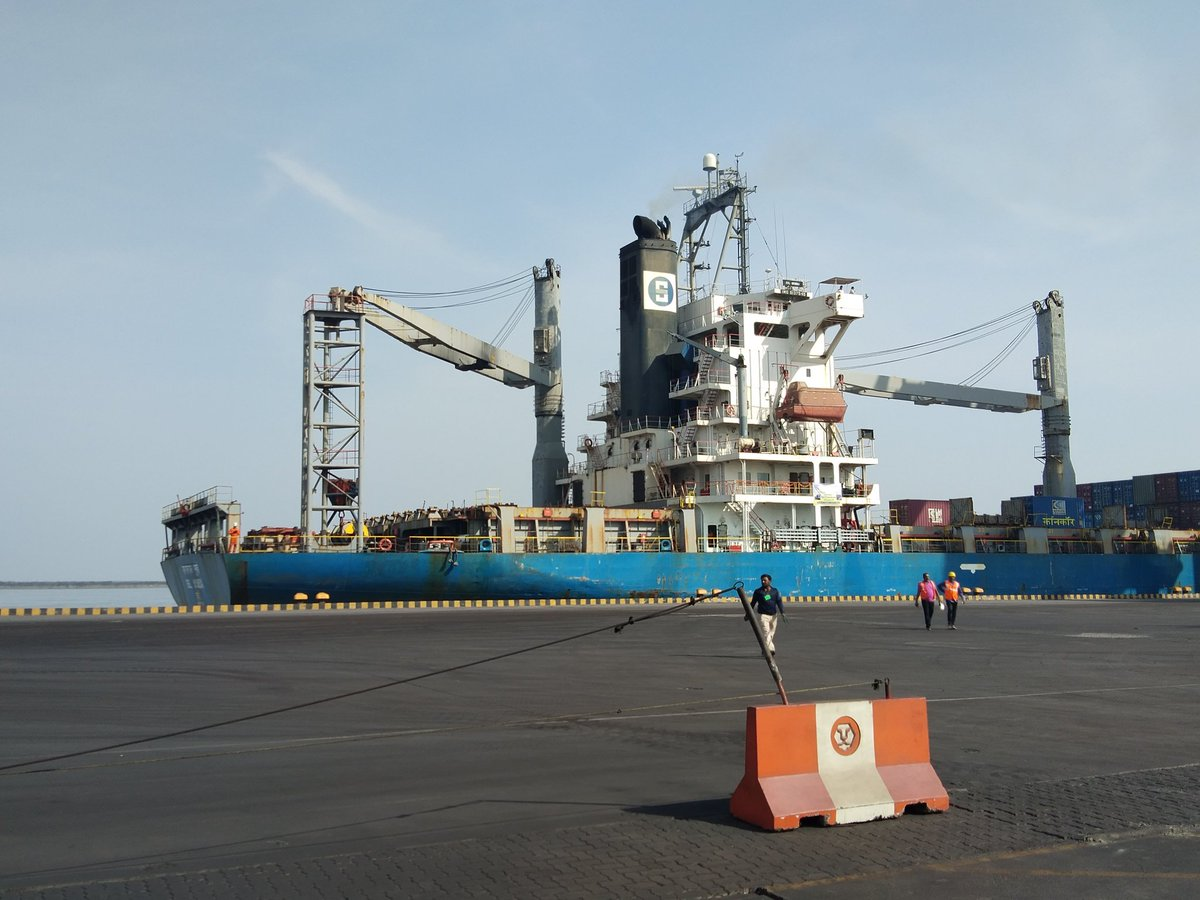 First coastal movement of Container Corporation of India flagged off at Kandla