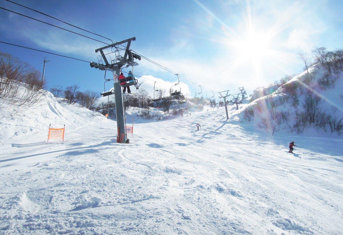 スキー 奥 場 伊吹