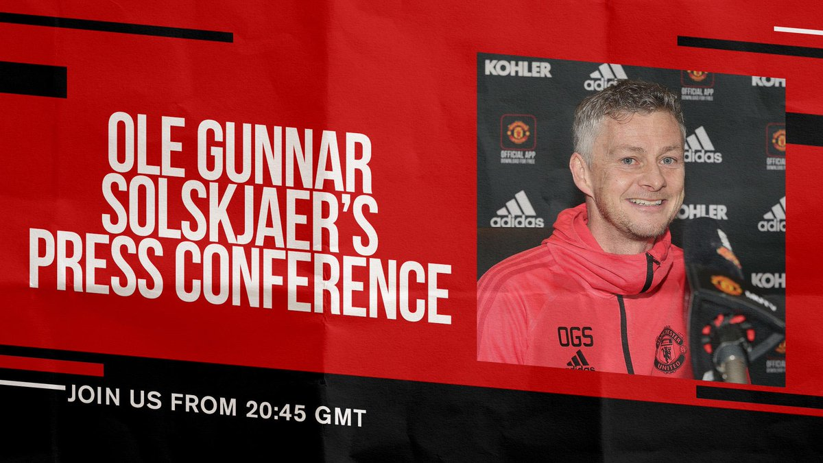 Ole will preview #MUFC's trip to Wembley later today!