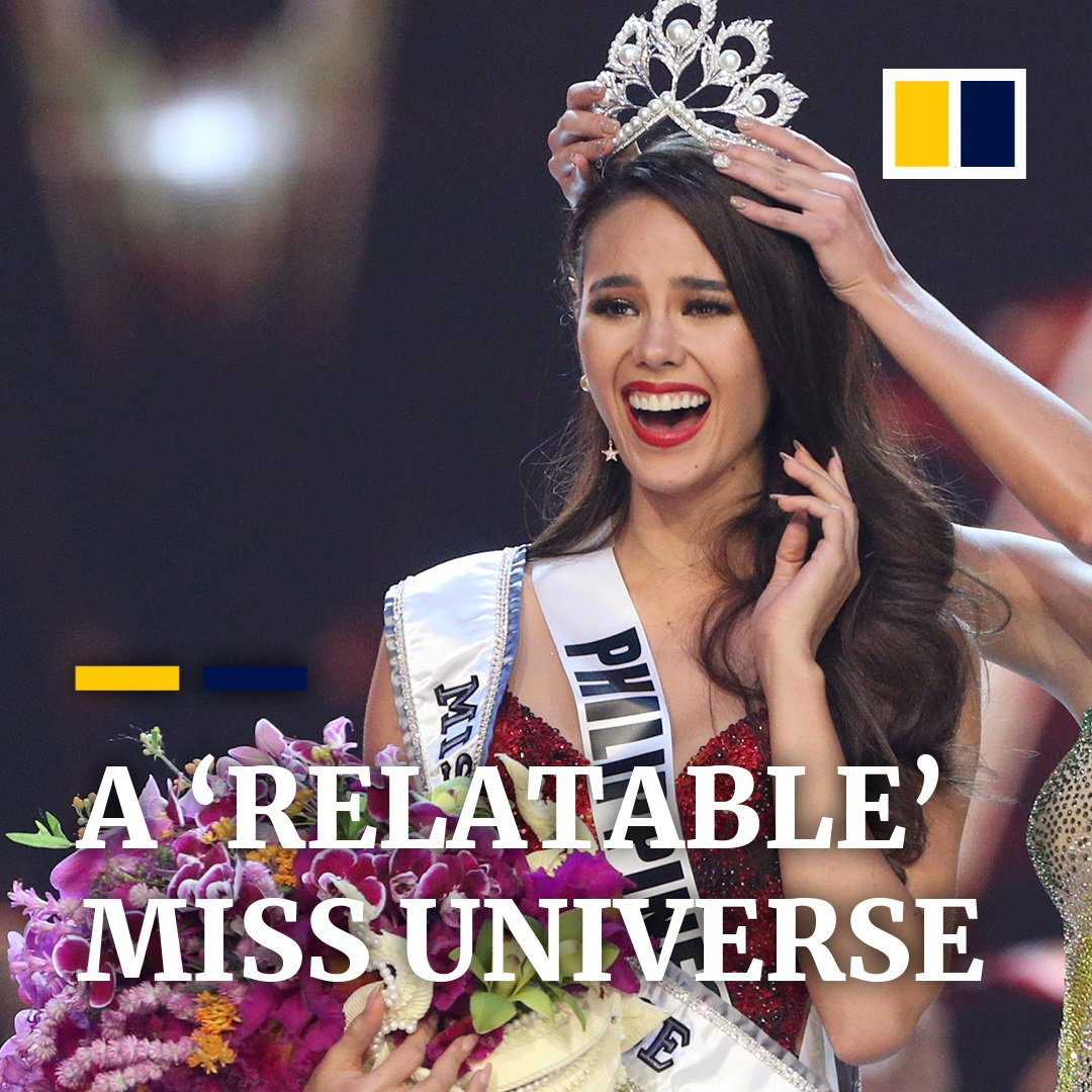 """""""We do an extraordinary job but we are normal people,"""" says @catrionaelisa. She shares with us the moment she won #MissUniverse and the three Bs of the Philippines."""