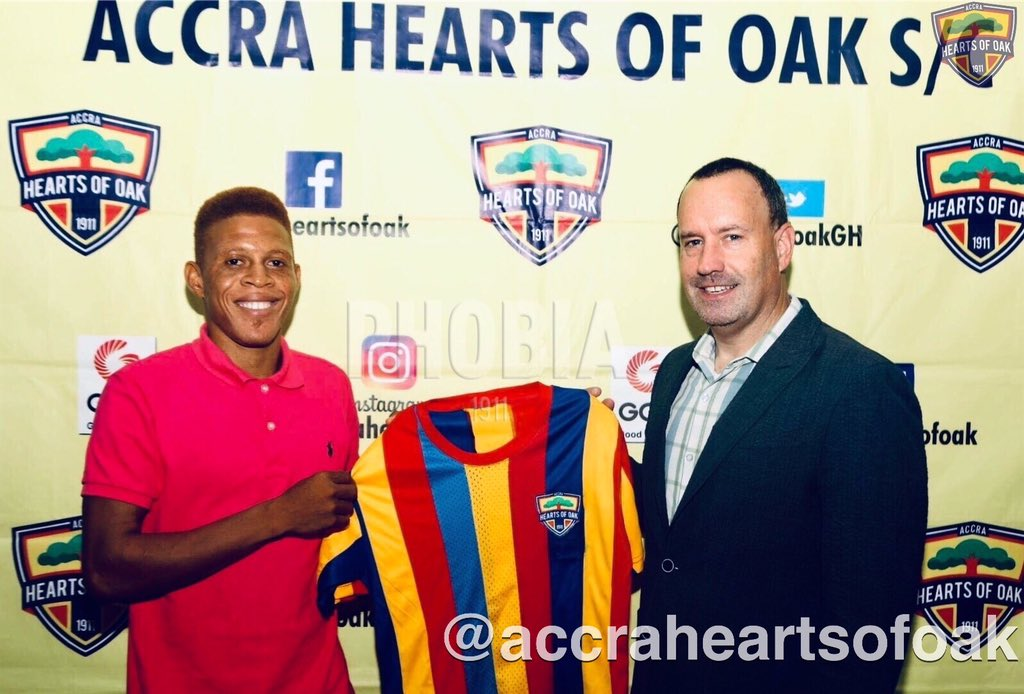 Ex-PAOK FC defender Ibrahim Sumaila joins Hearts of Oak