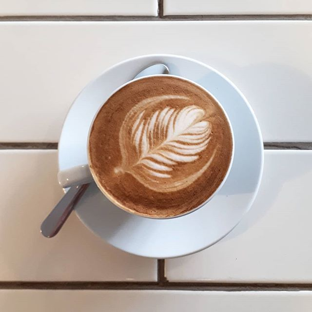 Tastes like productivity. . . . #cafe #hamont #latteart #holidaysareover  http:// bit.ly/2H6wCHn  &nbsp;  <br>http://pic.twitter.com/ZZrA6uSAc2