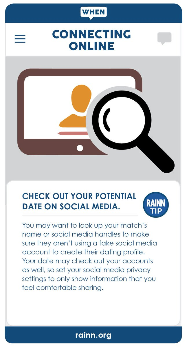 How to make a fake online dating account