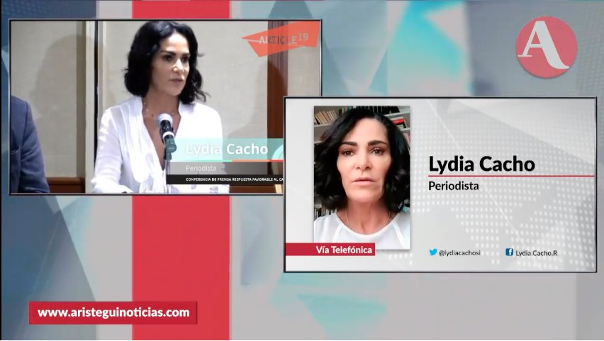 Aristegui Noticias's photo on Lydia Cacho