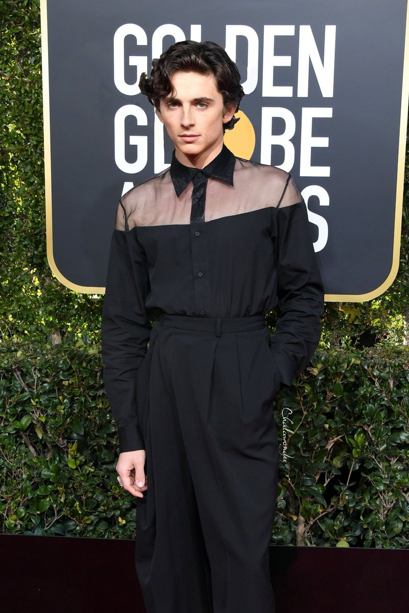 So, this is how @RealChalamet would look like in Cody Fern outfit from the #GoldenGlobes     {edit by me, don&#39;t repost without credits please!} <br>http://pic.twitter.com/LE7YrABzyF