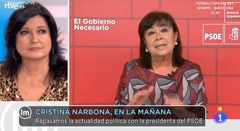 PSOE's photo on #lamañanaTVE