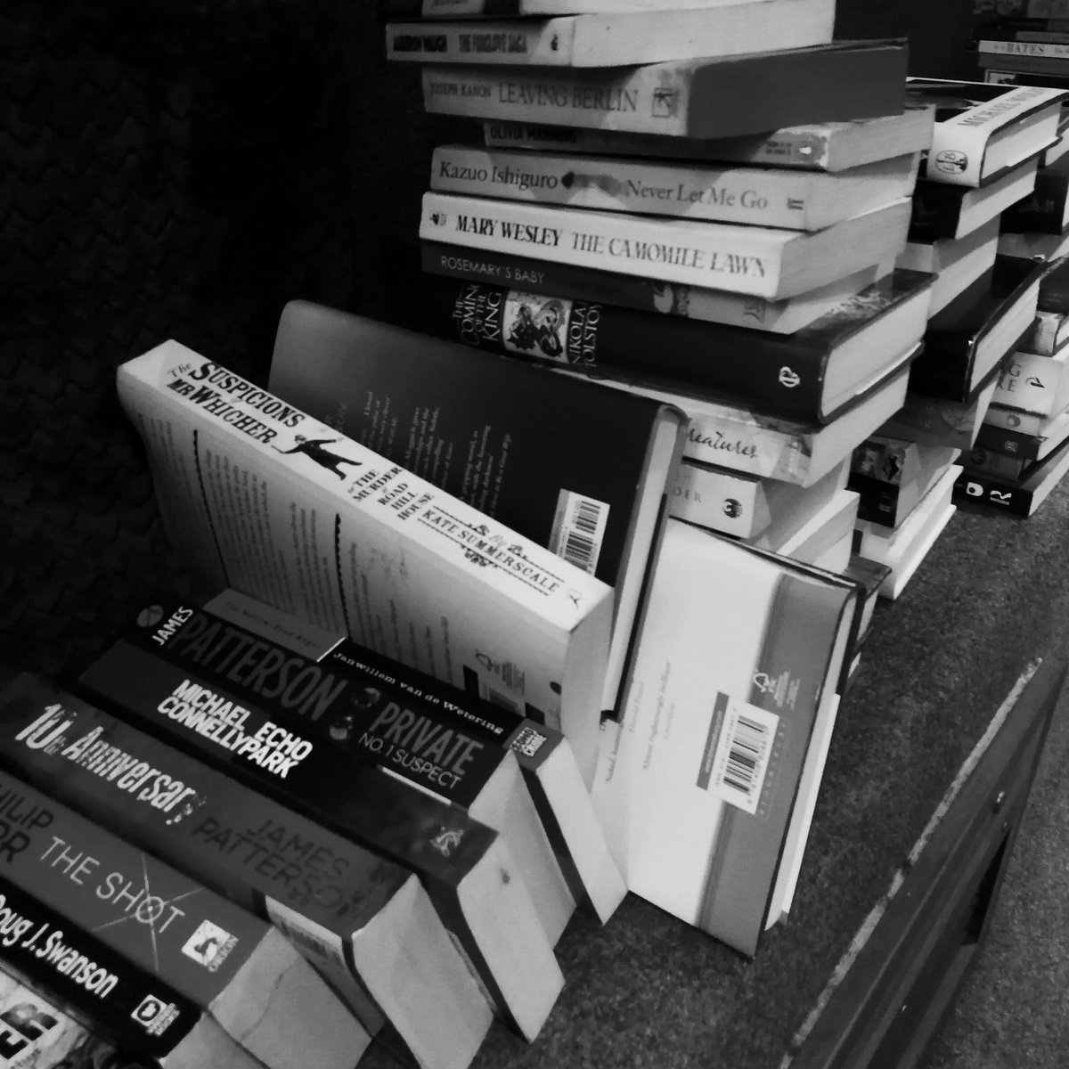 Stock for the Friends of NHCT book swap is starting to pile up . Come along on Saturday 26 January, 10-12.30  with your unwanted books / CDs / DVDs to trade. All proceeds support the work of NHCT!  Recycling, historic buildings and books, what&#39;s not to love? #norwich<br>http://pic.twitter.com/CuMP8lUxJ4
