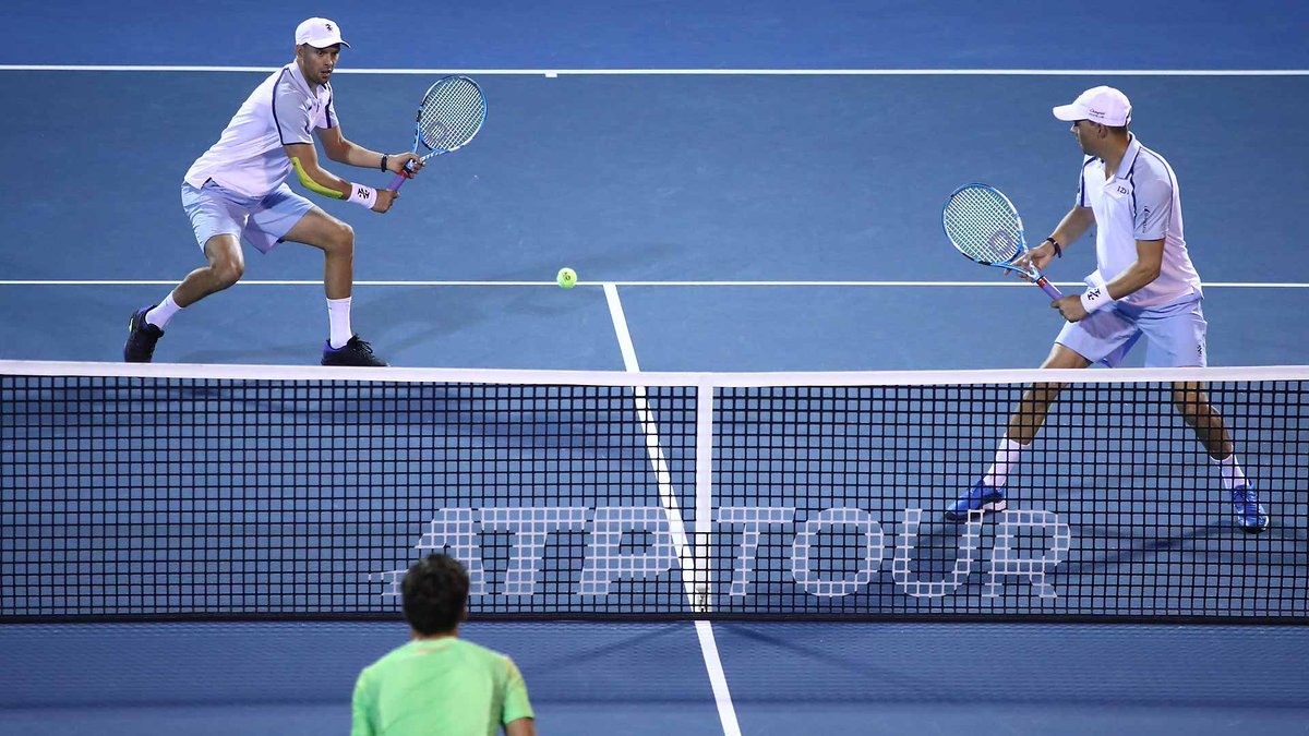 .@Bryanbrothers & @Bryanbros move into the @ASB_Classic semi-finals. ▶️ bit.ly/2H4h1rv
