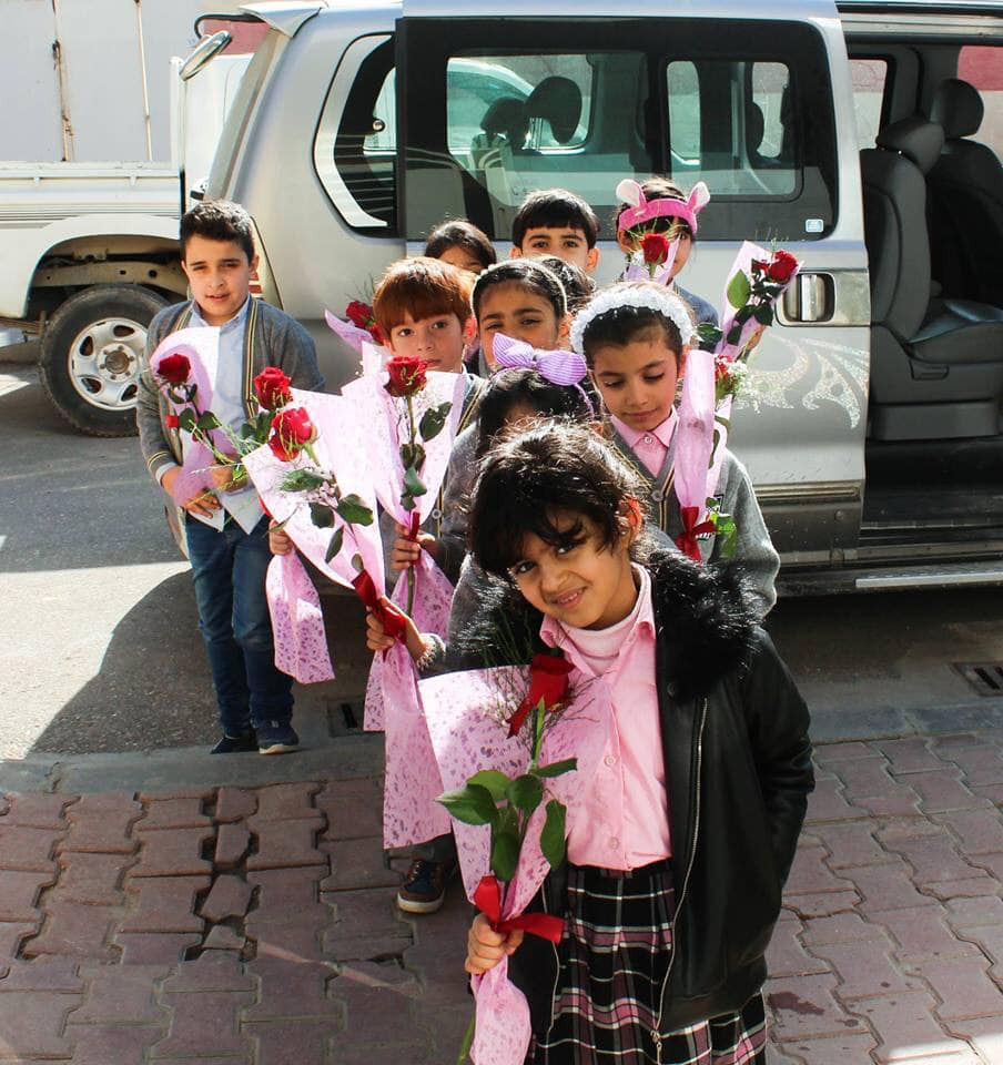 test Twitter Media - A group of AMAR students have recently visited a local church in the #Basra region of #Iraq.  The roses were to mark the #newyear, which brought together Iraqis regardless of religion, race or ethnicity. #rebuildinglives #bettertogether2019 https://t.co/CrEsJtgMdw