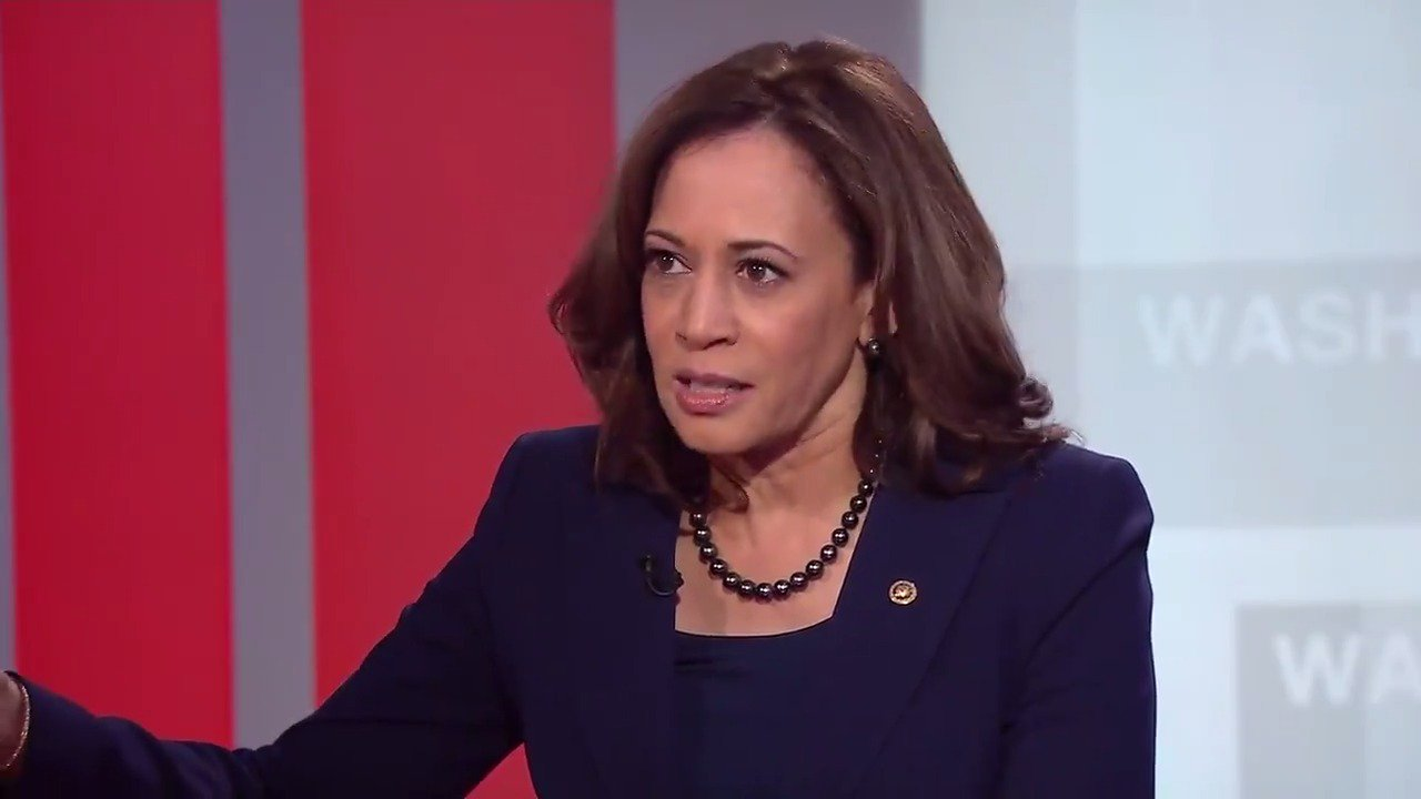 Sen. Kamala Harris on shutdown: 'This is a crisis of the president's own making.' https://t.co/C61qXKH5CL https://t.co/HFRkcLDXAQ