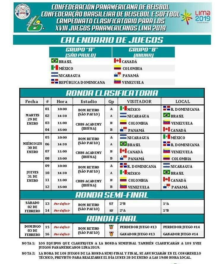 Calendario 2020 republica dominicana