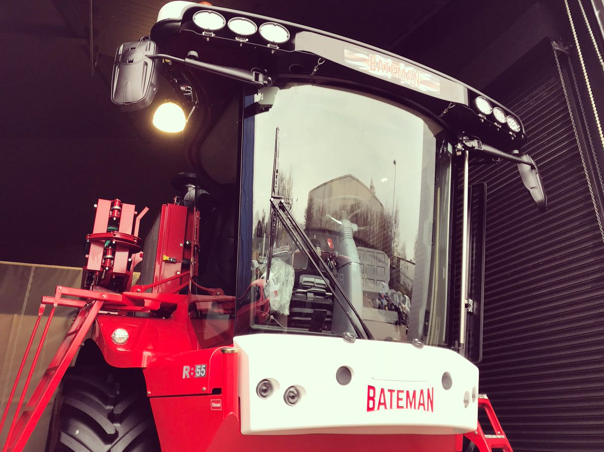 The superb RB55 Sprayer is being prepped ready for our video shoot tomorrow for Bateman. #teambateman