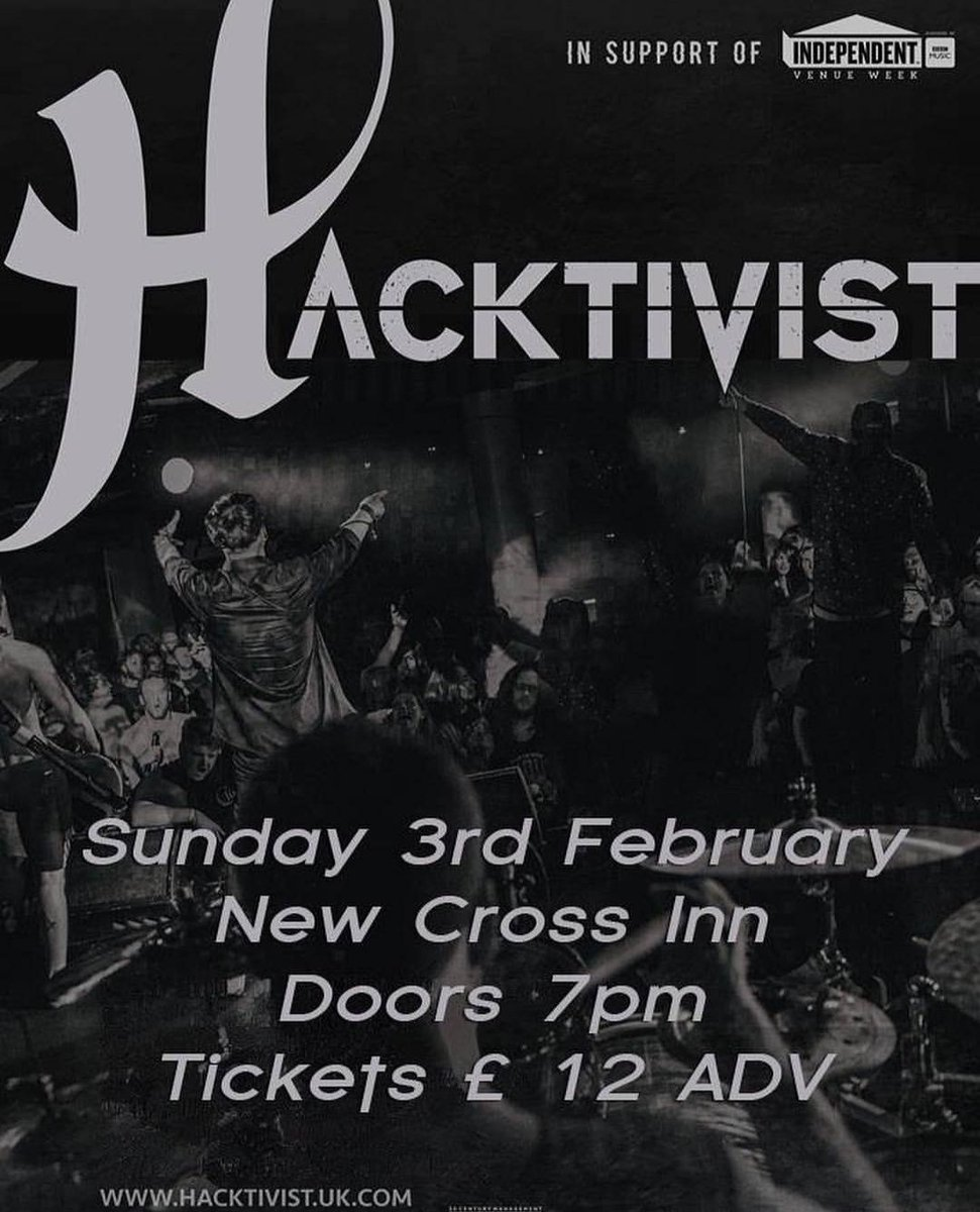 Anyone wanna come get sweaty and see @HacktivistUK in a few weeks? 🤔🔥