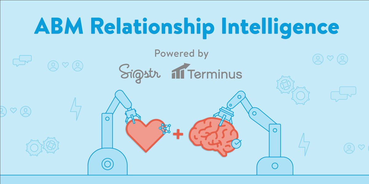 🚨 Huge + amazing news alert 🚨  Now you can bring @Sigstr Relationship data into the @Terminus Account Hub to put relationships at the heart of your #ABM strategy 💚   Read more about this exciting new integration in today's press release: https://resources.sigstr.com/integrations/terminus-sigstr-integration-intro …