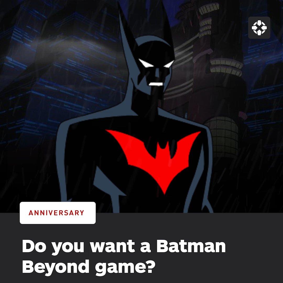 GIVE �� US �� A �� BATMAN �� BEYOND �� GAME! �� https://t.co/tJk7XmakBR