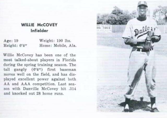 Happy Birthday in Heaven Stretch - we miss you!  Willie McCovey born this day, 1938.