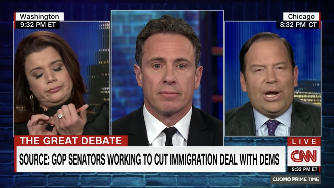 WATCH: CNN's Ana Navarro files nails during immigration debate with Trump ally https://t.co/iJJc1MDxqi https://t.co/zOJnNYY173