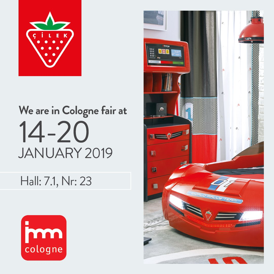 We are in Cologne Fair at 14-20 January. https://t.co/SMBD8kSi8A