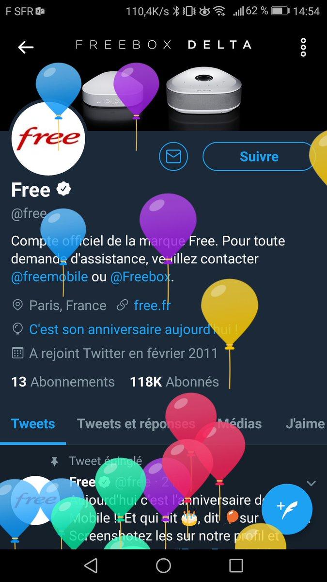 Sylvain Lemoine On Twitter 7ansfreemobile Joyeux Anniversaire