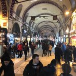 Image for the Tweet beginning: Shopping in Istanbul's Grand Bazaar!