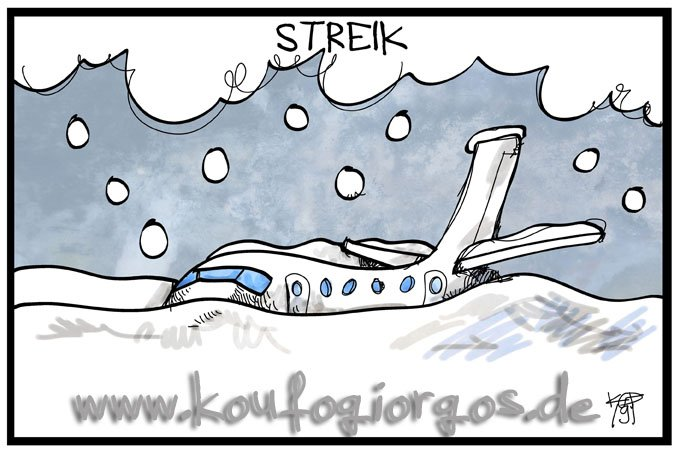 Kostas Koufogiorgos's photo on #streik