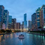 Image for the Tweet beginning: Chicago's Must See Riverfront just