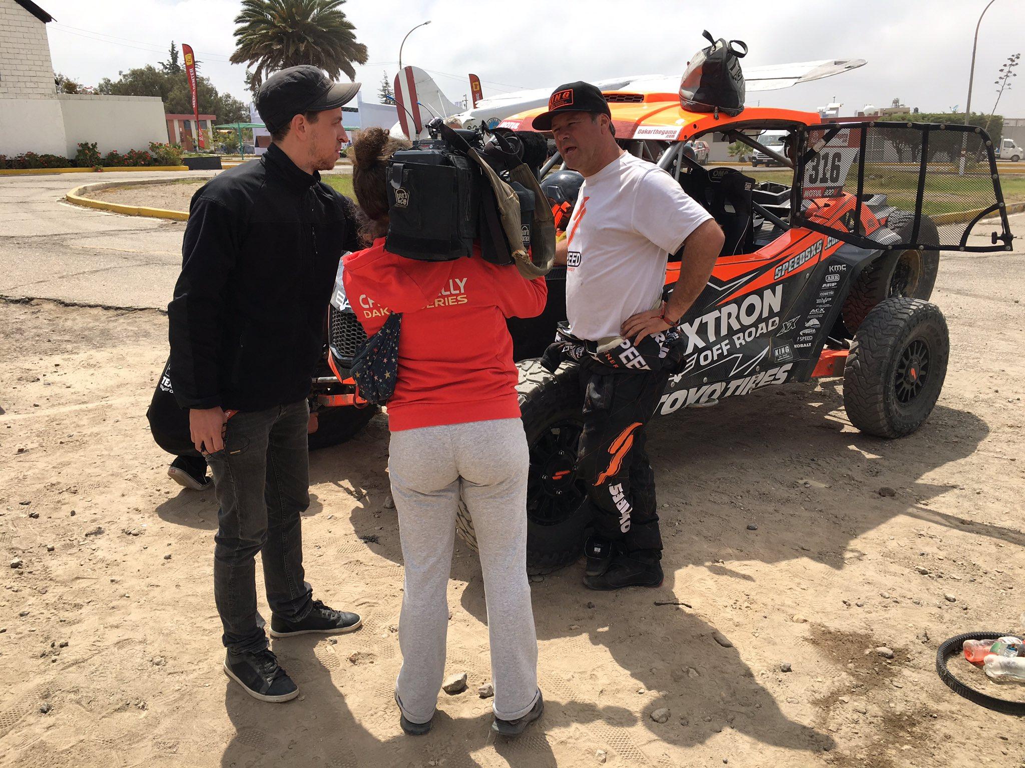 2019 41º Rallye Raid Dakar - Perú [6-17 Enero] - Página 7 DwjwmG-UwAAtzBC