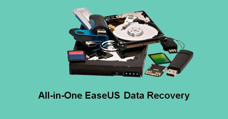 تحميل برنامج EaseUS Data Recovery لاستعادة الملفات المفقودة للكمبيوتر مجانا