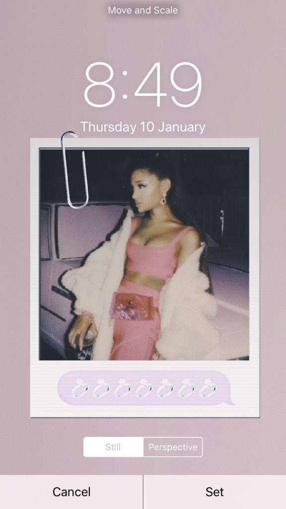 • Ariana Grande lockscreen pack • rt if you want  • MUST be following♡  BOTH BRIGHTER & THEY MATCH