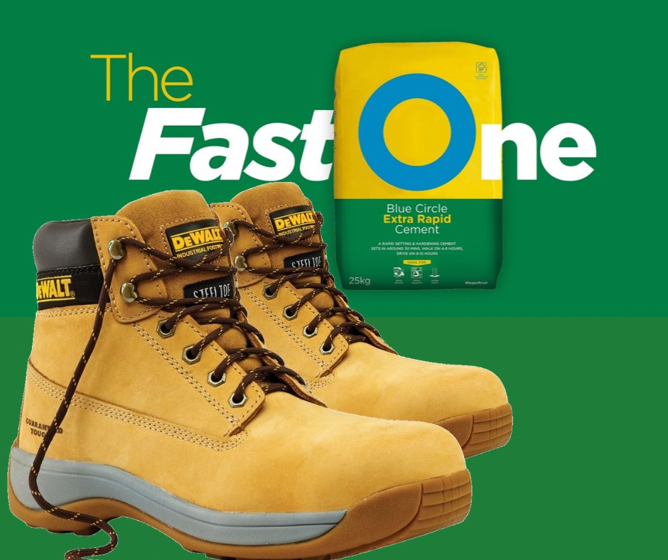 We&#39;re giving away a pair of @DEWALT_UK Bolster Safety Boots! All you have to do is #follow us and #retweet this post to enter the random draw! Good luck! #TheFastOne #competition #giveaway #prize #free #ThursdayThoughts #win #fridayfreebie #ThursdayMotivation<br>http://pic.twitter.com/lXz1EDjNuT