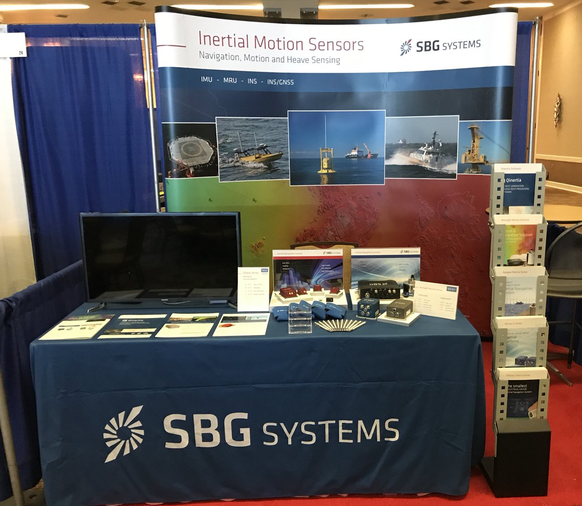 We are currently exhibiting on booth #25 @HYPACK Training Event in Corpus Christi, TX. Make sure to stop by to discover our new Navsight Marine solution, ideal for #Hydrography --> http://bit.ly/2GMUtM7