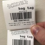 Image for the Tweet beginning: Scan your bag tags before