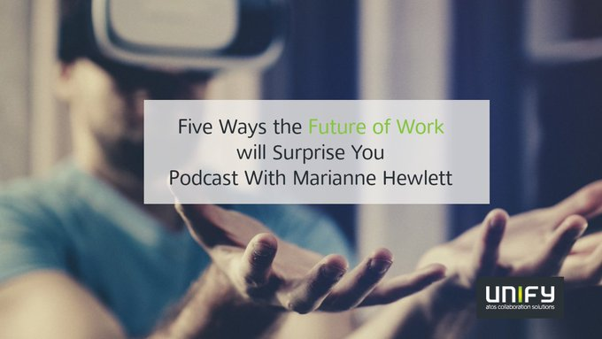 Even though we talk about the #FutureOfWork, it is already happening now. Listen to...