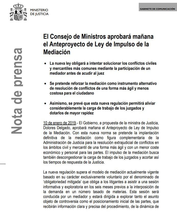 Ministerio Justicia's photo on El Consejo de Ministros