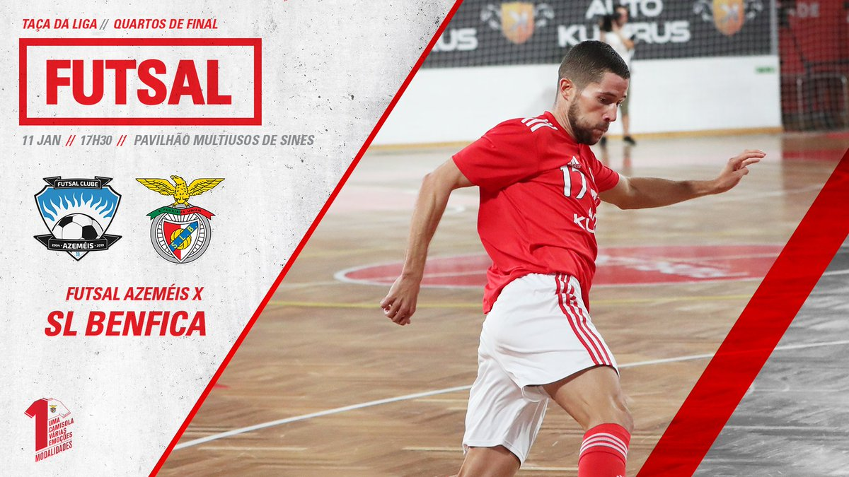 7132cfc5ba Futsal Azeméis vs.  FutsalBenfica 📺 CMTV  UmaCamisolaVáriasEmoções