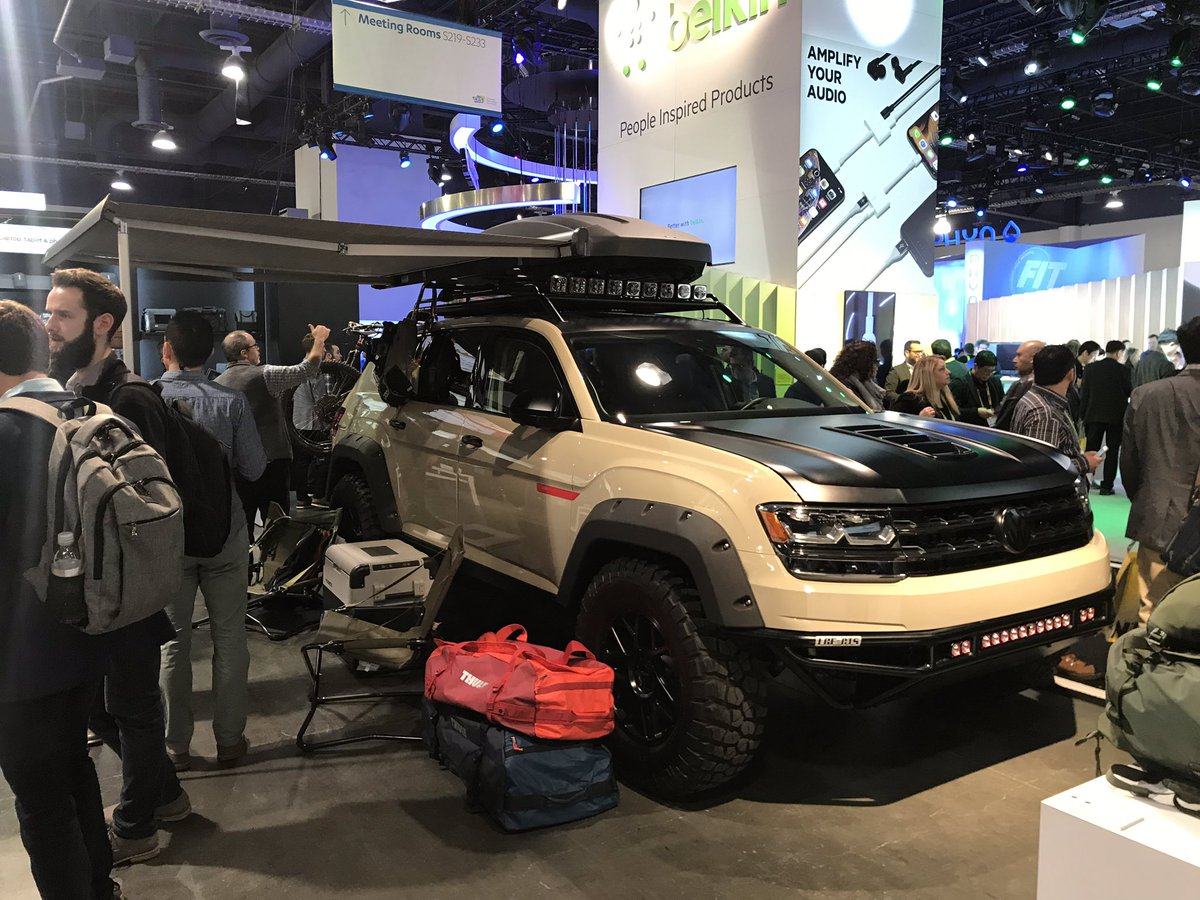 Tanner Foust Vw >> Tanner Foust On Twitter My Vw Atlas Spotted At Ces All