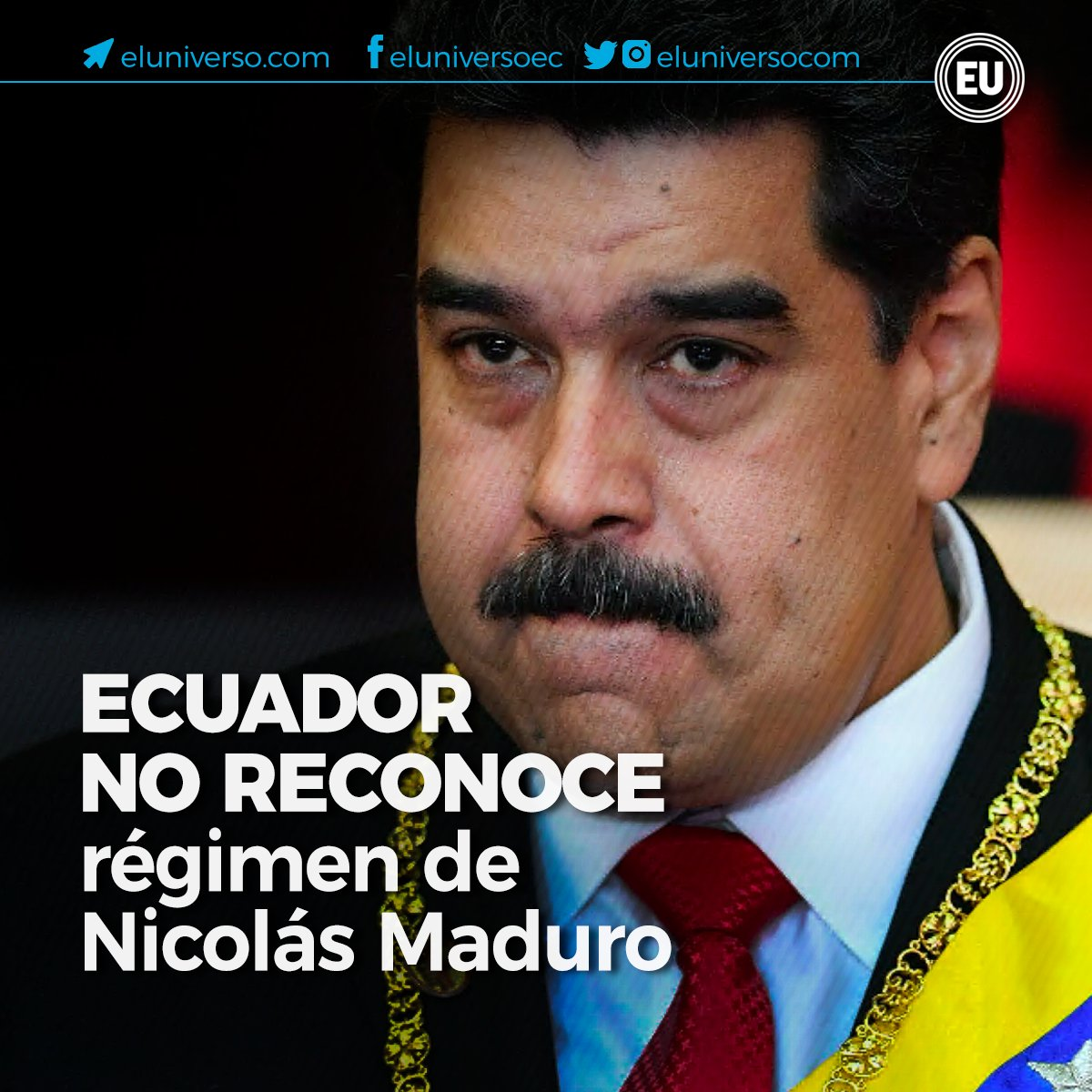 El Universo's photo on Nicolás Maduro