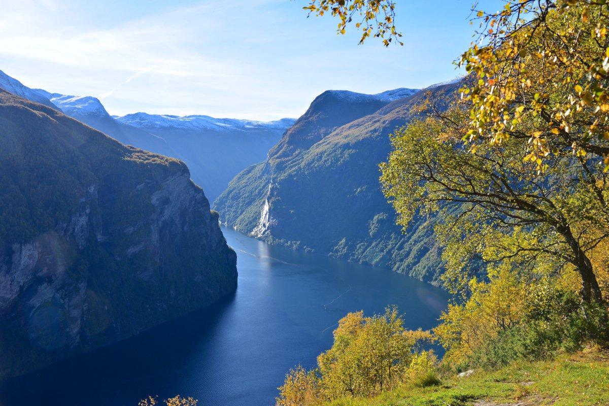Норвегия в сентябре фото