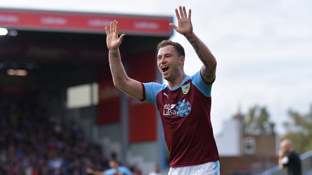ON THIS DAY: 2014   Five years ago today, Burnley signed Ashley Barnes from Brighton.   FIVE WHOLE YEARS OF SHITHOUSERY! Here's to the next five   #twitterclarets #UTC <br>http://pic.twitter.com/wmBQnOJwch