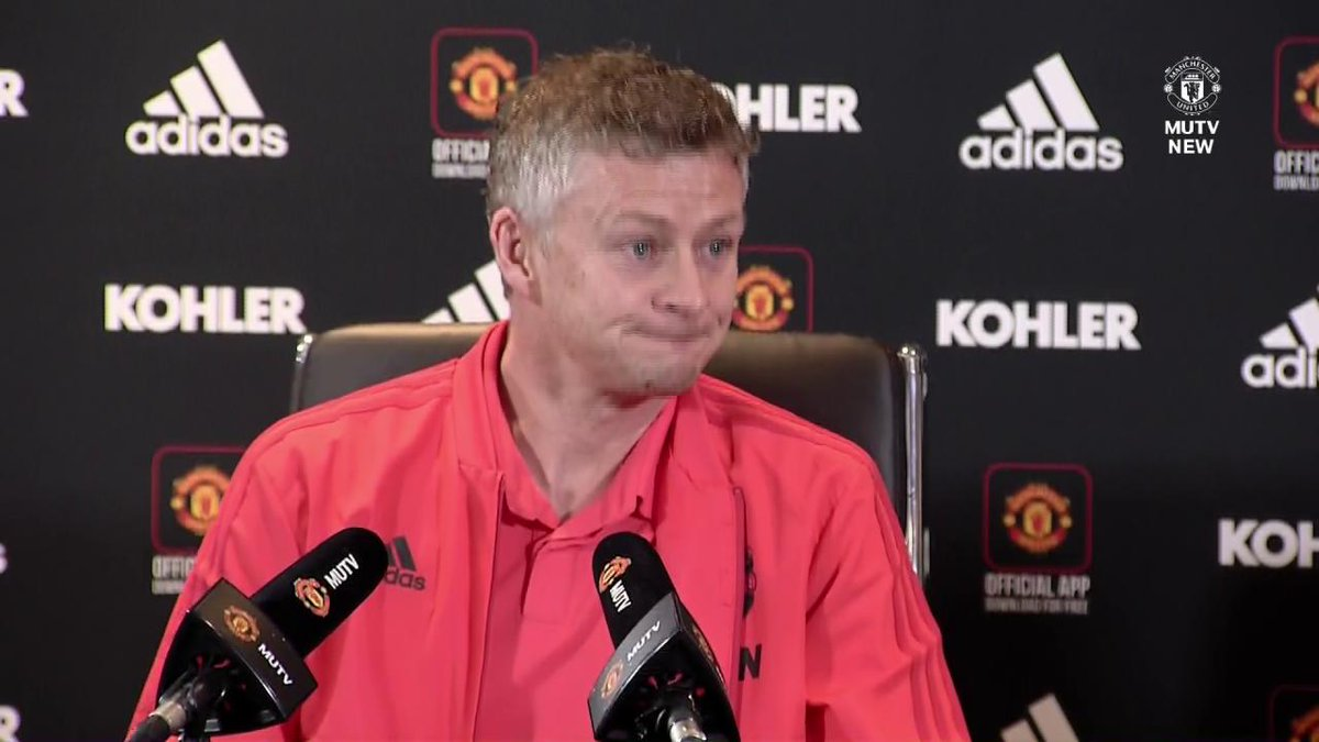 Ole reveals his approach for Sunday's big game at Wembley... #MUFC
