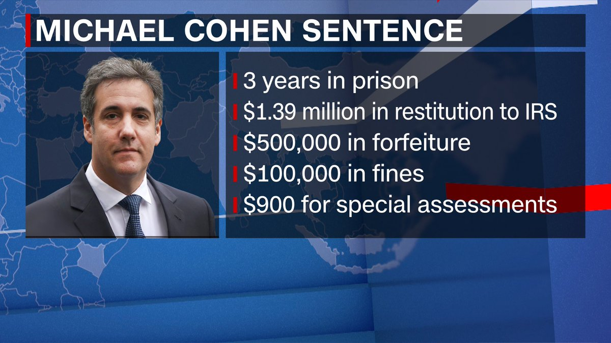 President Trump's former lawyer @MichaelCohen212 will testify on Feb 7 before the House Oversight Committee in open session. He reports to prison on March 6.